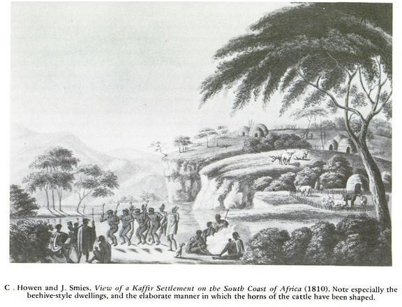 Xhosa Land in 1810