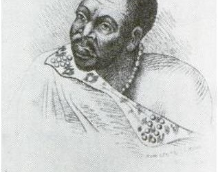 King Hintsa of the Gcaleka Xhosa