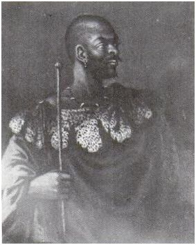 Chief Maqoma of the Rharhabe, Xhosa