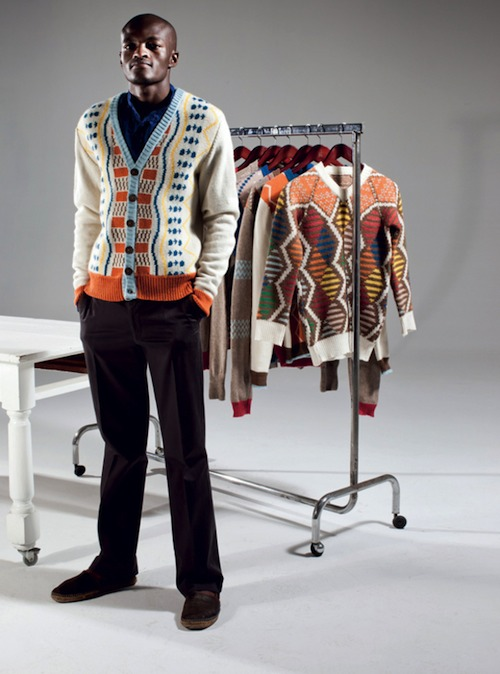 Laduma Ngxokolo Founder of the Maxhosa mens knitwear label MaXhosa by Laduma Ngxokolo (Fashion Designer)