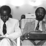Oliver Tambo and Thabo Mbeki at work, late 1980s (Courtesy of Thabo and Zanele Mbeki)