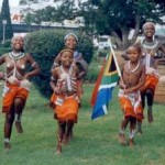Sinovuyo Tradional Dancers - way back