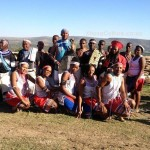 Sinovuyo Tradional Dancers with Chief Mandla Mandela of Mvezo and other Xhosa elders