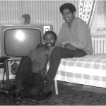 Thabo Mbeki and Essop Pahad at the Pahad flat, Earls Court, mid-1960s