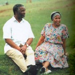 Thabo Mbeki and his wife Zanile walking in the fields of his home town Idutywa eNgcingwana 2 150x150 Thabo Mvuyelwa Mbeki former President of South Africa