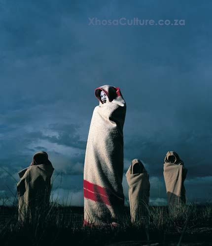 Xhosa people of South Africa - Abakhwetha - Xhosa Initiates