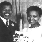 1958 June 14 Nelson Mandela and his then wife Winnie at their wedding 150x150 Nelson Mandela Timeline – Little Known Facts You May Not Know About Dalibhunga