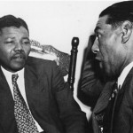 1964 Nelson Mandela in discussion with Mr Andrews a Cape Town teacher 150x150 Nelson Mandela Timeline – Little Known Facts You May Not Know About Dalibhunga