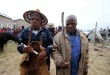 Ingcibi yakwa Bhaca Maganise Mbasane, who has circumcised 30 000 young men, with his assistant Keke Nongqotho - Xhosa Culture