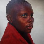 Africa Rising - collection 6 Ntombi Matisa 1.2 x 1m Oil on canvass - Loyiso Mkize
