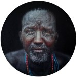 Africa Rising - collection 8 The gentle man, Oil on Canvass - Loyiso Mkize