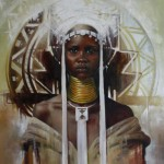Ulilanga, oil on canvass 1.2 x 1m - Loyiso Mkize -