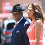 Bheki Cele and his wife