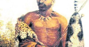 Artist impression of Makhanda Nxele - Xhosa Wars Warrior