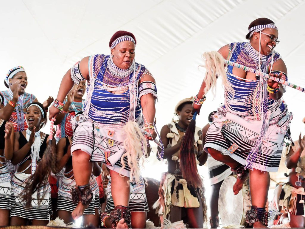 Satma Awards 2016 nominees..Sivuyile Nonzame Traditional.Dancers perfoming at the Pondo festival Matshona Village Tabankulu on the 10th September 2016 - pic by Siyasanga Mbambani