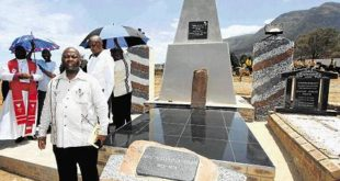 HONOURING ANCESTOR: DECEMBER 20, 2015:The Fikeni monument and grave were unveiled at Ndzongiseni village near Mount Ayliff on Saturday in memory of the founder of the Fikieni traditional leadership. The ceremony was facilitated by political analyst Professor Somadoda Fikeni
