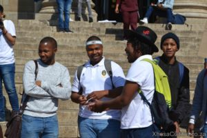 Wits University students protest against inxeba the wound movie which insults Xhosa Culture, ulwaluko (11)