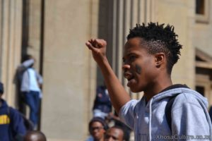 Wits University students protest against inxeba the wound movie which insults Xhosa Culture, ulwaluko (15)