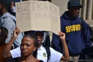Wits University students protest against inxeba the wound movie which insults Xhosa Culture, ulwaluko (18)
