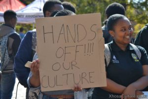Wits University students protest against inxeba the wound movie which insults Xhosa Culture, ulwaluko (29)