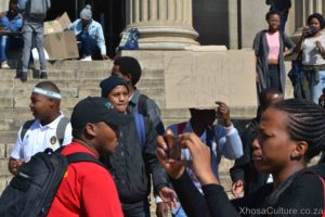 Wits University students protest against inxeba the wound movie which insults Xhosa Culture, ulwaluko (6)