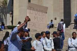 Wits University students protest against inxeba the wound movie which insults Xhosa Culture, ulwaluko (9)