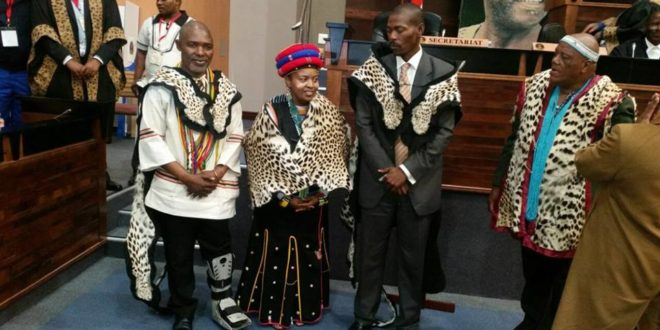 Eastern Cape House of Traditional Leaders New Leadership